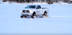 【最強キャタピラーで完璧走破!】『Track N Go』があればどんな雪道でもラクラク走行できるんです!