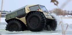 なんという走行性能! ロシアが開発した全地形対応車「SHERP」が凄い…!