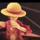 【ONE PIECE】ルフィと鷹の目のミホークが繰り広げるバトルが熱すぎる……!!【ストップモーション】