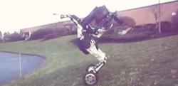 ロボットはここまで来た! ホイールがついた脚部逆関節の二足ロボットが凄い!!