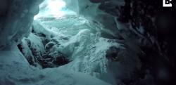 スキー中に深いクレバスへと落下してしまった男性のGoPro映像が恐ろしい……!
