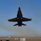 アメリカ海軍ブルーエンジェルス、衝撃の離陸シーン!!