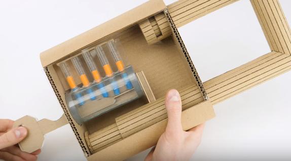 【DIY】仕組みも分かる! ダンボールで作る巨大南京錠