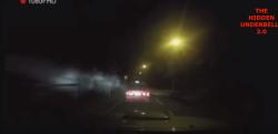"""【超常現象!?】高速で飛ぶ""""謎の発光体""""がタクシーに衝突し交通事故が発生!!"""