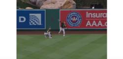 【野球】MLB史上最高?の強肩アウト! 「外野手レーザービーム」