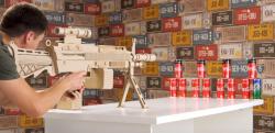 【DIY】ダンボールで作る本格的なライフル銃がスゴ過ぎる!!