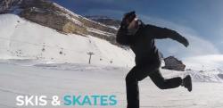 これは流行る! スキーとスケートが融合した新しいアクティビティー「Snowfeet」