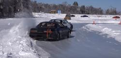 世界一遅いドリフトが見られる『八千穂レイク』が冬場でもアツイ!