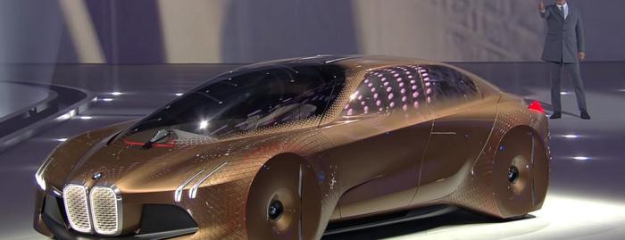 車はここまで来たか…! BMWが打ち出したコンセプトカーが未来的だと話題に!