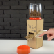 【DIY】簡単! レバー式の餌やりマシンをダンボールで工作してみた!