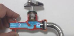【雑学】ひねるとどうして水が出る? 水道の蛇口の仕組み!