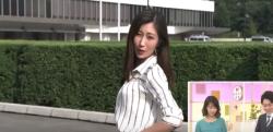 【NHK】天気予報中のいきなりブルゾンちえみ! 酒井千佳キャスターがセクシーだと話題に!