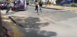 【怪奇】メキシコで撮影された「深呼吸する道路」