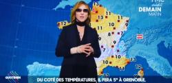 X JAPANのYOSHIKI、なぜかフランスのお天気お兄さんとしてTV出演!!