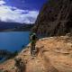 必見! 空、雲、湖、断崖絶壁、怖いくらい美しい絶景の中をサイクリング!!